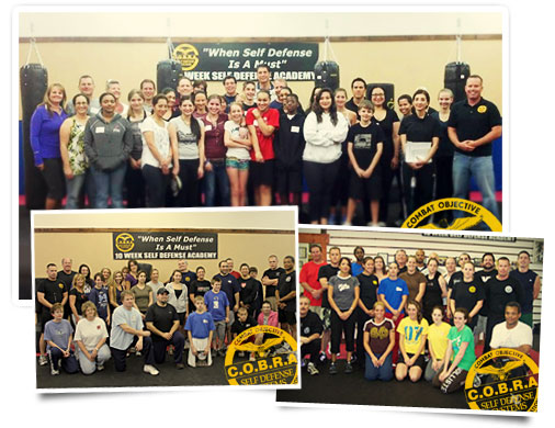 C.O.B.R.A.™ self-defense classes.